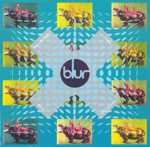 BLUR She's So High Vinyl Record 12 Inch Food 1990